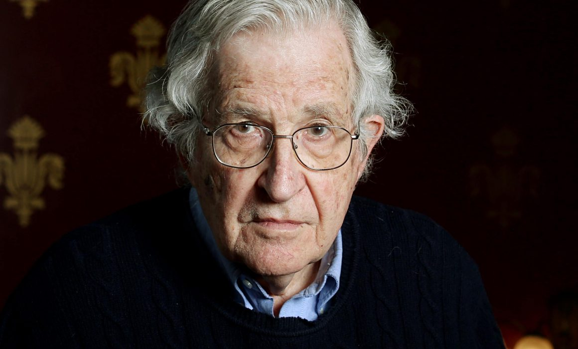 Noam Chomsky endorses the Plastic Oceans Foundation