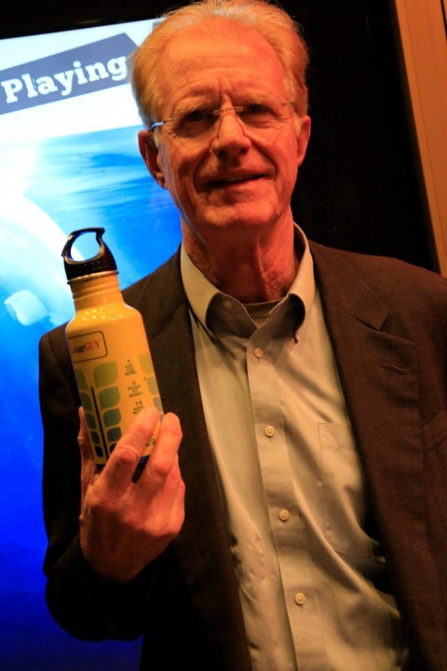 Ed Begley Jr., at the LA premiere of A Plastic Ocean.