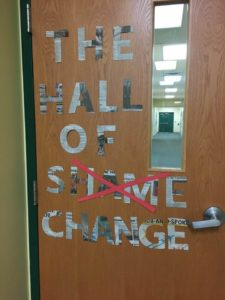 Hall of Change at Pineland Learning Center