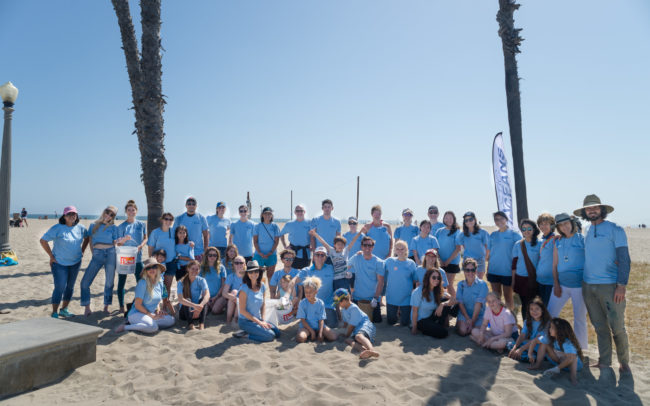 Plastic Oceans US brought the troops out to Santa Monica, for World Oceans Day 2018.