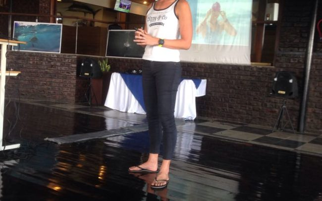 Sarah Ferguson talk at Scottburgh for WOD