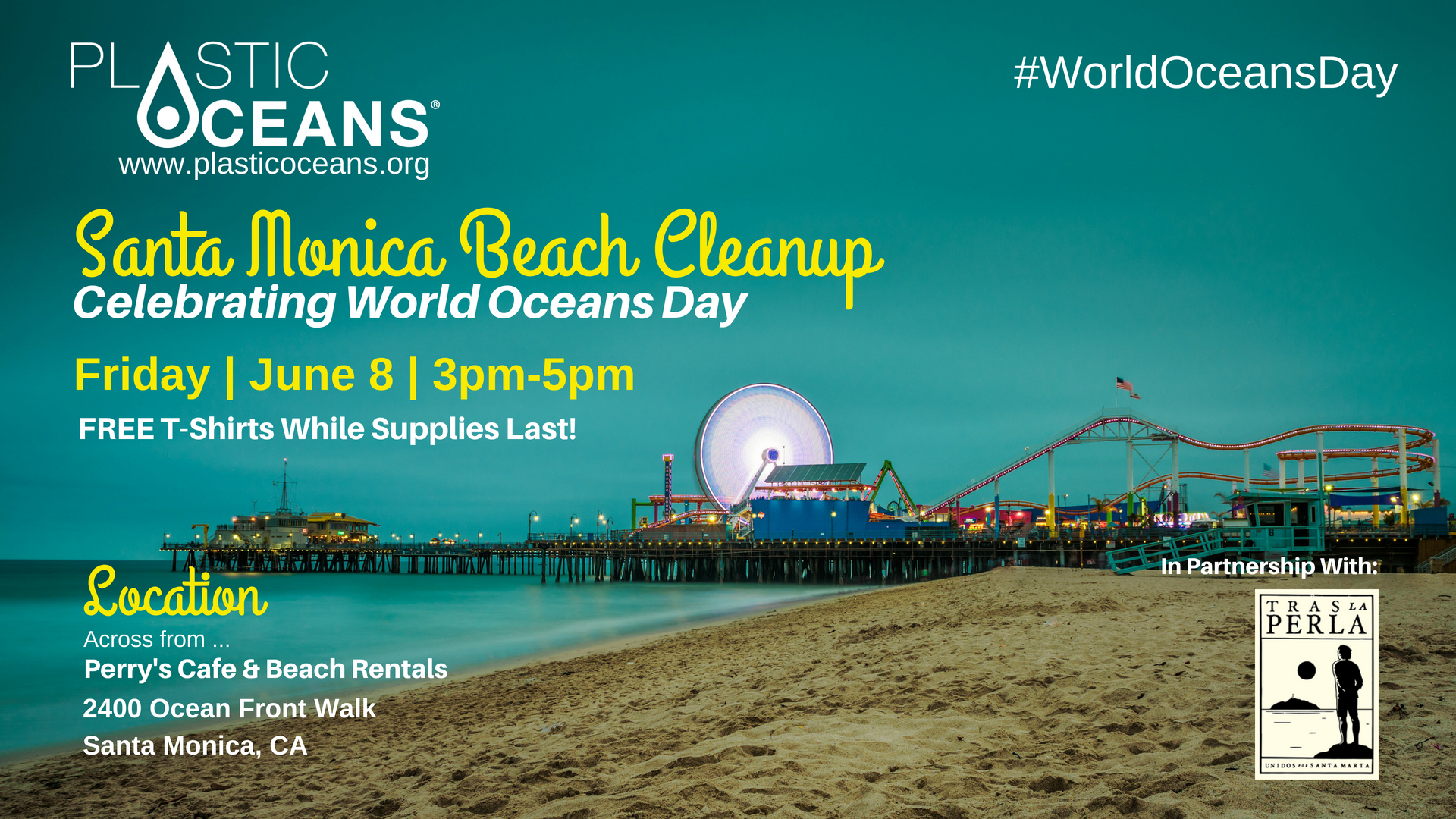 World Oceans Day Santa Monica Beach Cleanup