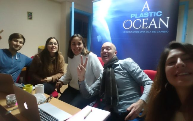 Plastic Oceans Chile team