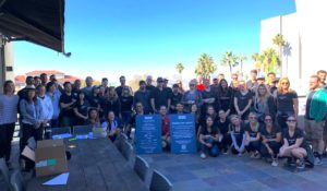 Silicon Valley Bank beach cleanup