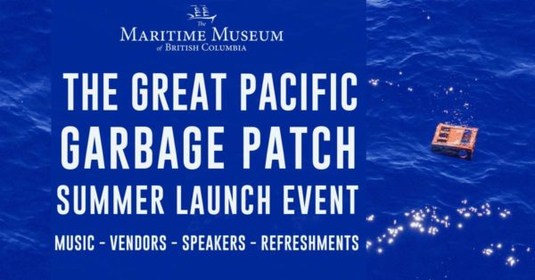 Great Pacific Garbage Patch Exhibit.