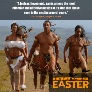 Eating Up Easter documentary review graphic