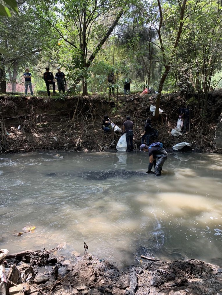 River Clean Up in Mexico