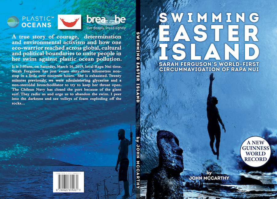 Swimming Easter Island book cover