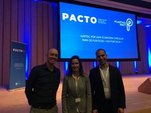 Mark met with Smartwaste Portugal at the Portuguese Plastics Pact launch event