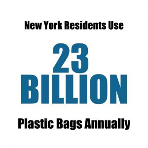 Plastic Bags used in New York State