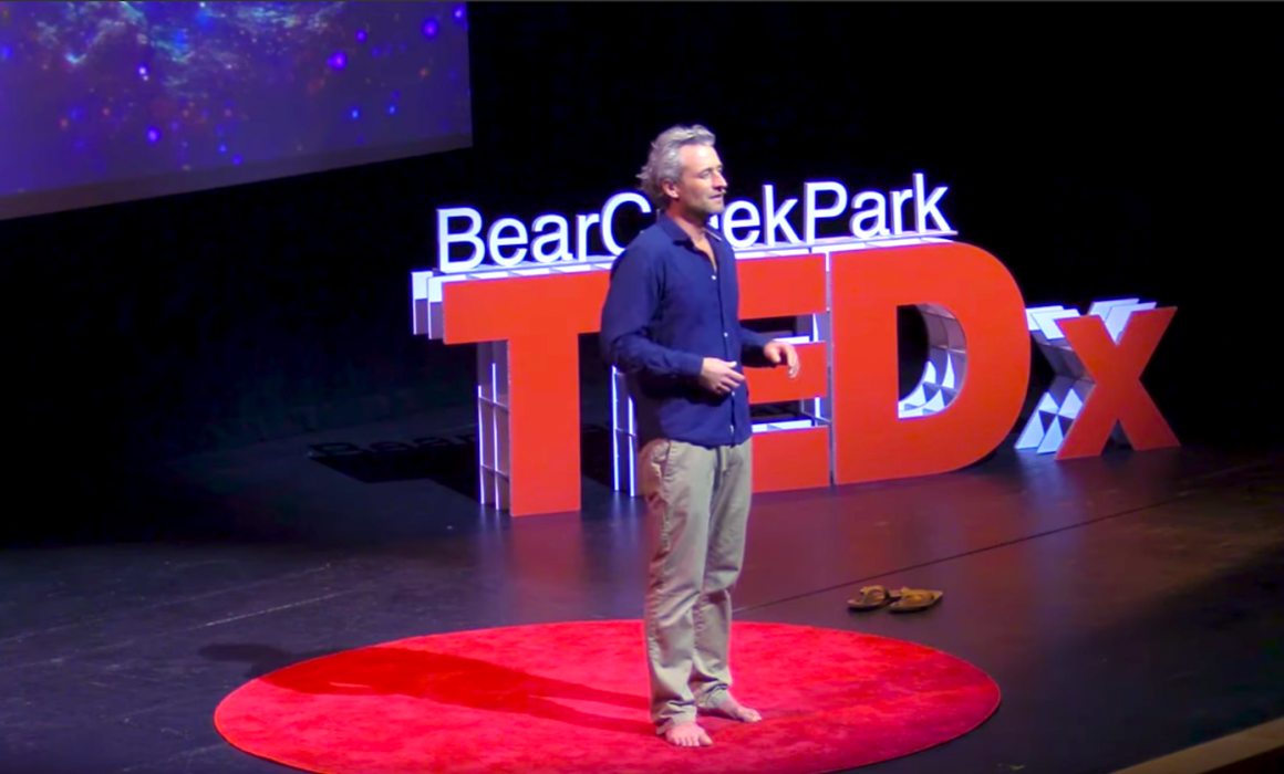 Adrian Midwood at TEDx Bear Creek Park