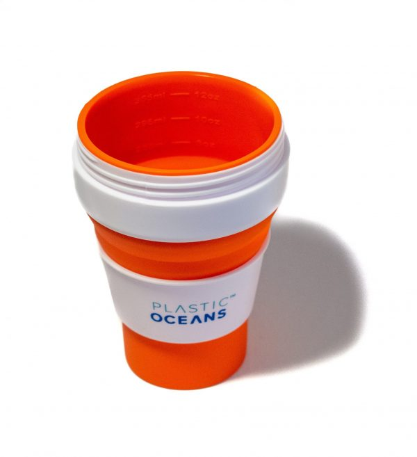Reusable cup from Plastic Oceans International