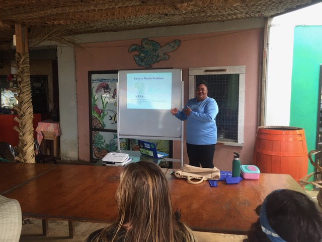 Educating the youth of Tonga