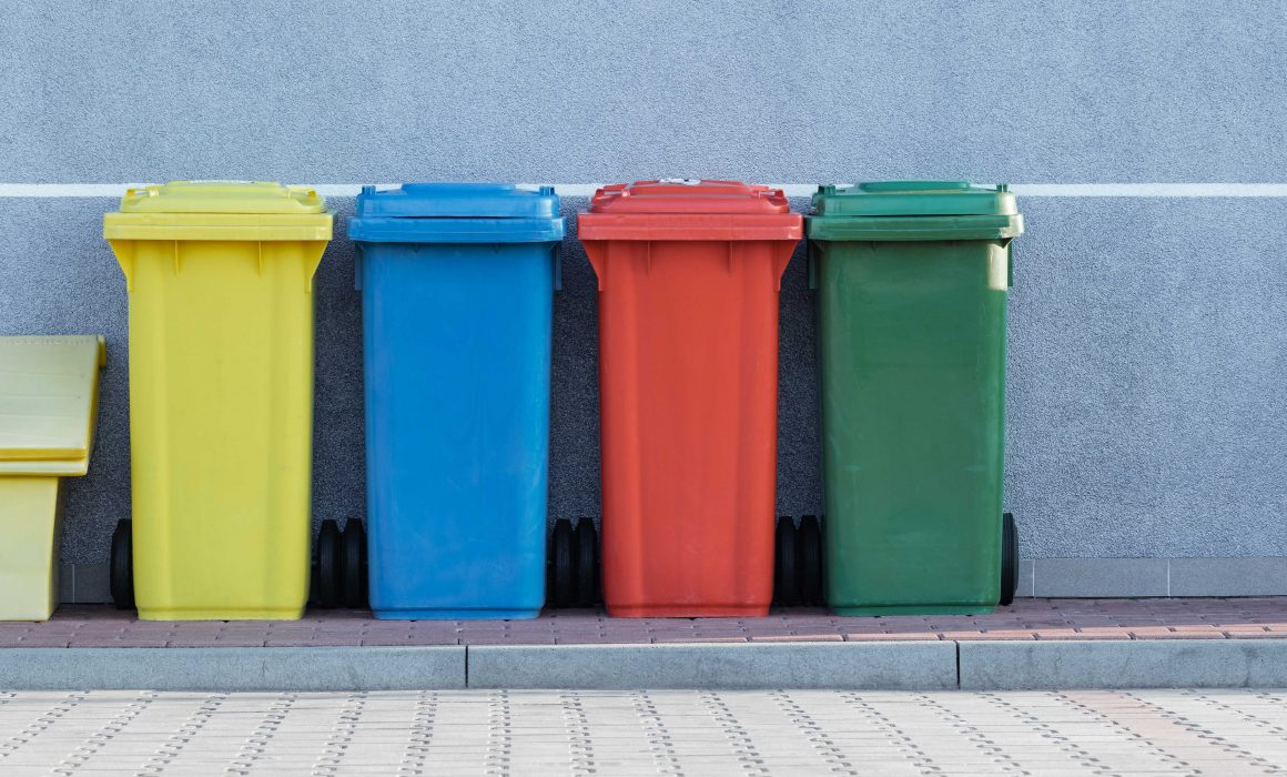 recycling containers for waste reduction