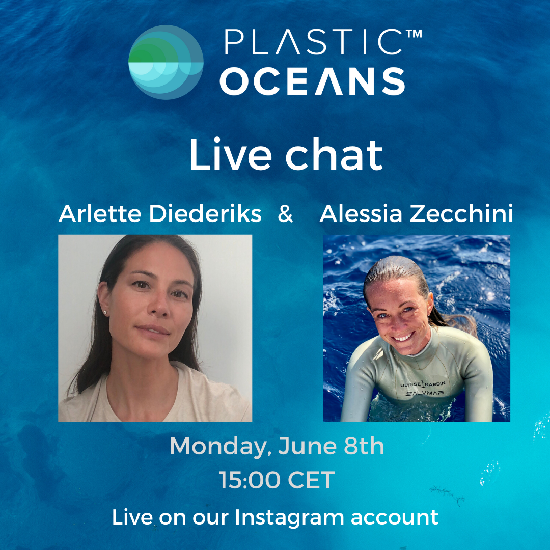 Alessia Zecchini Live Chat With Plastic Oceans Europe