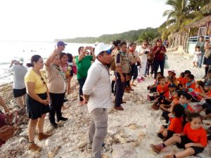 Turtle education in Seybaplaya, Mexico