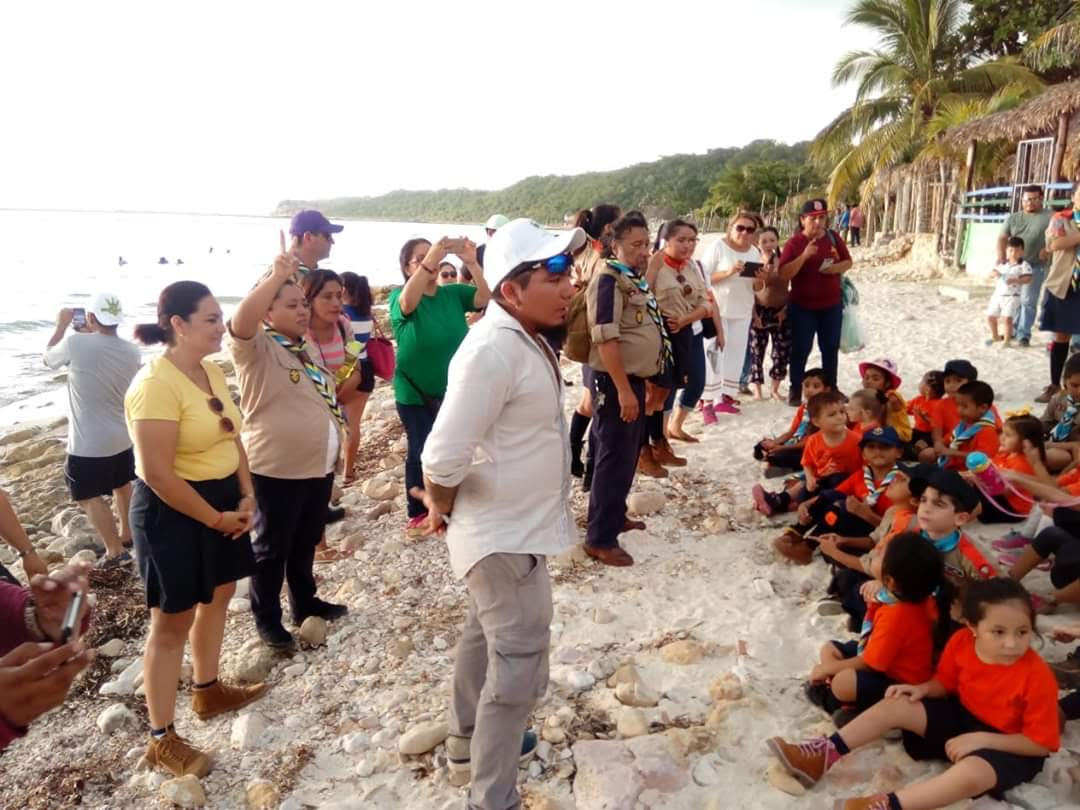 youth turtle education in mexico