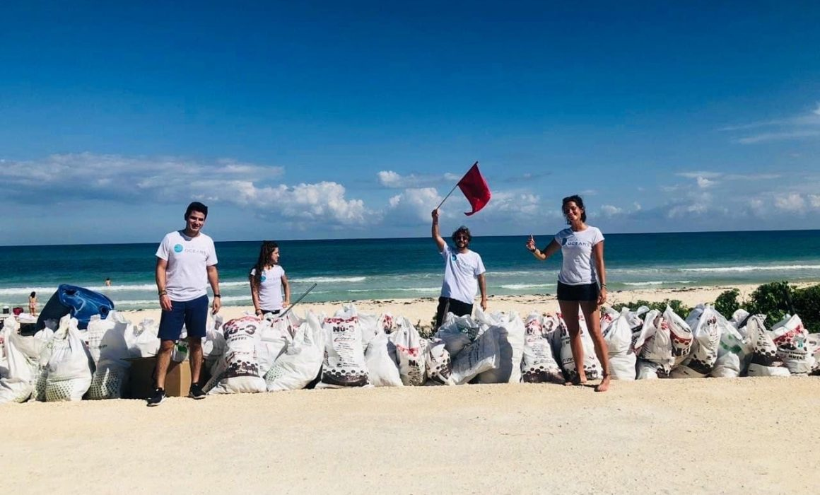 Connect to the Ocean: A beach clean up with Plastic Oceans Mexico