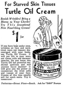 Turtle Oil Cream from South Sea Isles