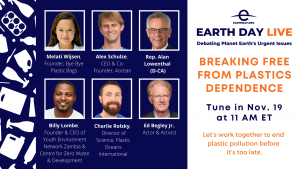 Earthday Live - Breaking Free From Plastics Dependence