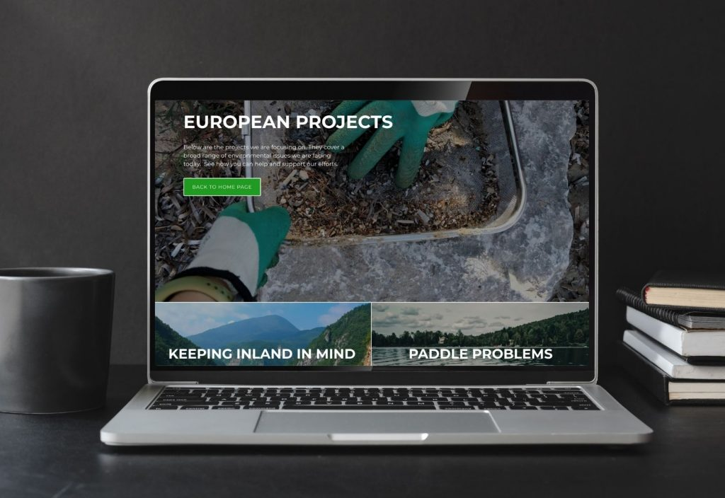 Plastic Oceans Europe Website