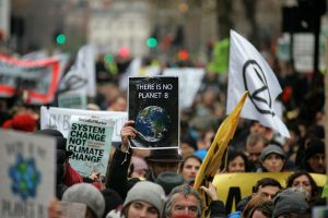 Extinction protest in London