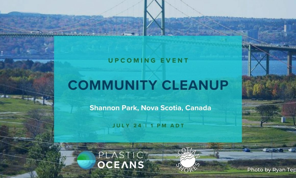 Community Cleanup with Plastic Oceans Canada