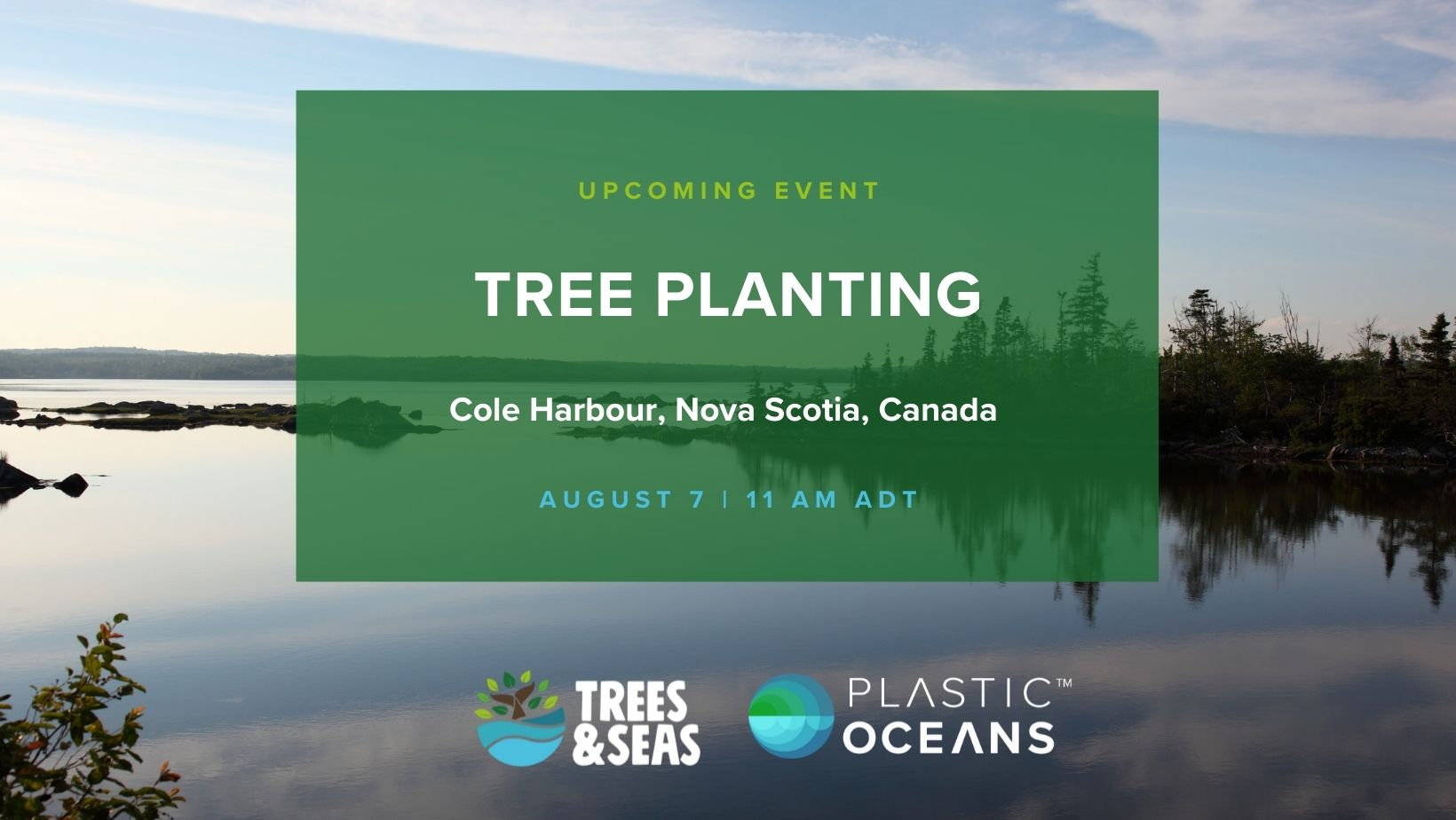 Tree Planting with Plastic Oceans Canada